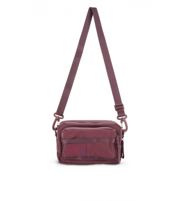 George Gina & Lucy LOVE LETTERS - Across body bag - deep ruby/red