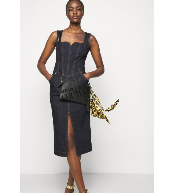 Versace Jeans Couture THELMA MEDIUM POUCH - Across body bag - nero/black