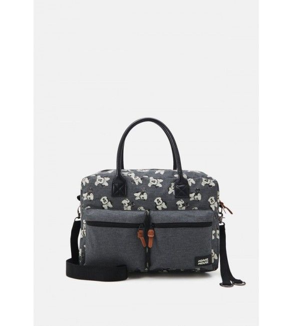 Kidzroom DIAPER BAG MINNIE MOUSE BETTER CARE SET - Holdall - grey