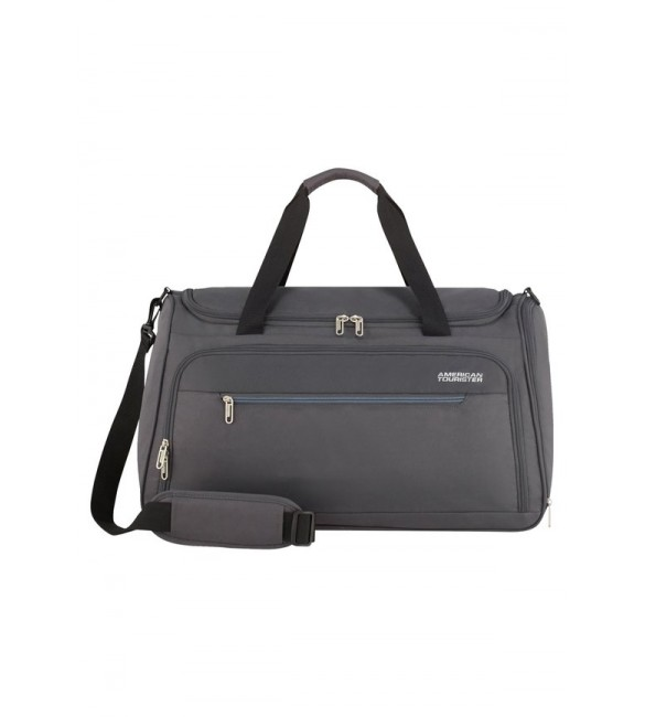 American Tourister Holdall - charcoal grey/stone